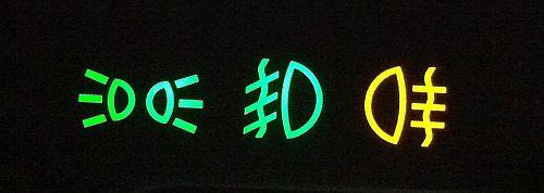 Indikatori tuvajām gaismām, priekšējiem un pakaļējiem miglas lukturiem