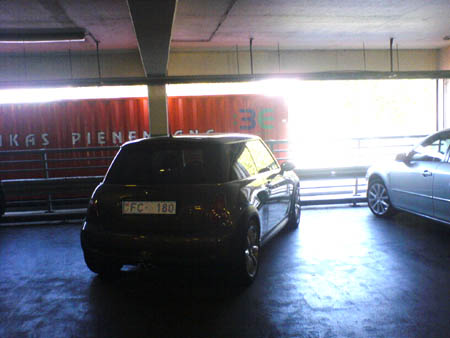 I park like an idiot (paraugs)